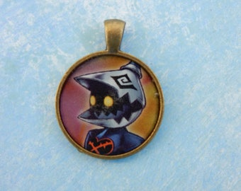 Kingdom Hearts: Heartless Soldier Pendant