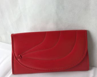 1970's Red Shoulder/Clutch