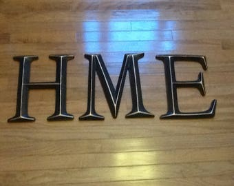 Large Bronze Letters Wall Letters  Etsy