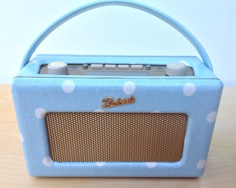 Roberts Revival Radio DAB in Cath Kidston Little Spot Oilcloth