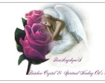 RoseAngelique'S Rainbow Crystal Healing Chakra's & Spiritual Healing Oil's Manual ...