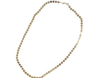 Disco Collar Necklace; Disco Necklace; Layering Necklace; Simple Necklace; Circle Necklace; Geometric Necklace; Disco Choker; Circle Choker