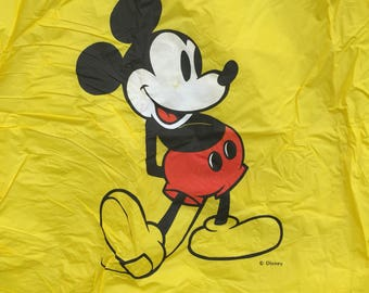 Vintage Mickey Mouse Rain Poncho