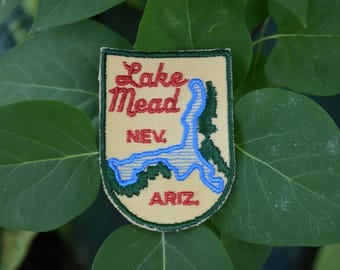 Vintage Lake Mead Travel Patch