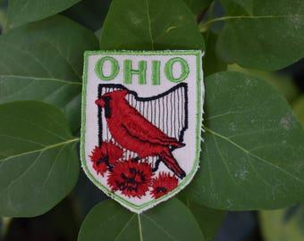 Vintage Ohio Travel Patch
