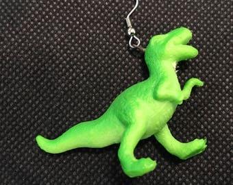 T-Rex earring