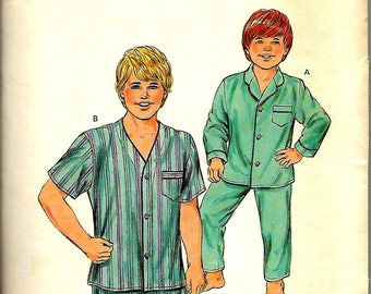 Kwik sew 1556       Boys Pajamas         Size  4-7