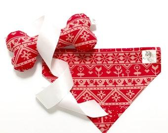 Christmas bandana | Etsy