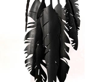 """Maxi necklace """"Feathers"""""""