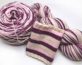 Fangirl Collection Swindern Sock 'Molly' Self Striping Hand Dyed Yarn
