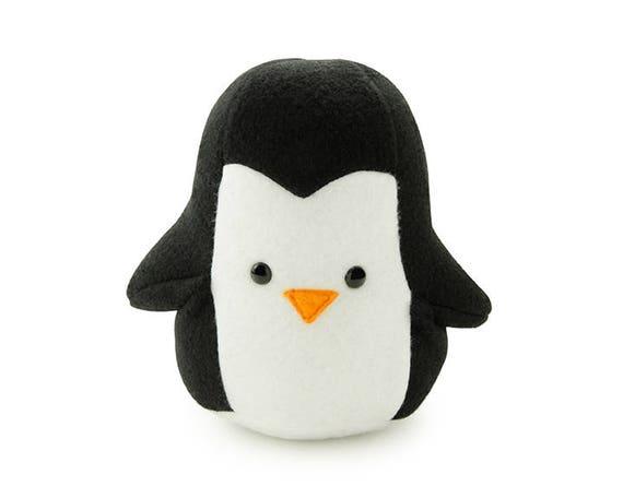 Fleece Penguin Stuffed Animal
