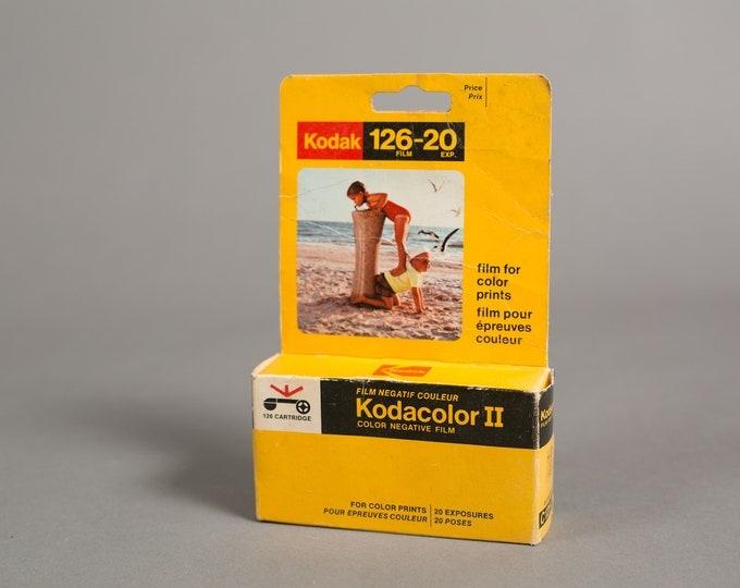 Kodacolor-2 Colour Negative Film C126-20 - 1 Roll of Vintage Kodak Film - Professional Expired Color Film