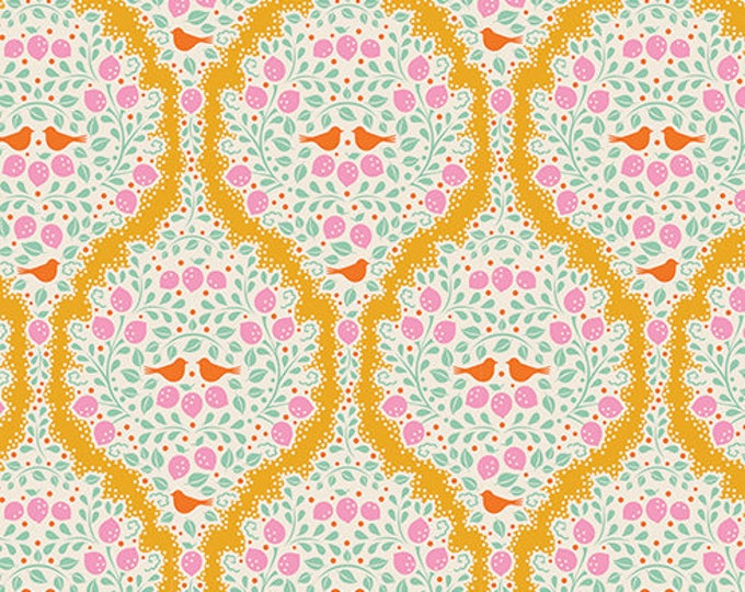 TILDA LEMONTREE - Lemonade Yellow 100005 - 1/4 yard