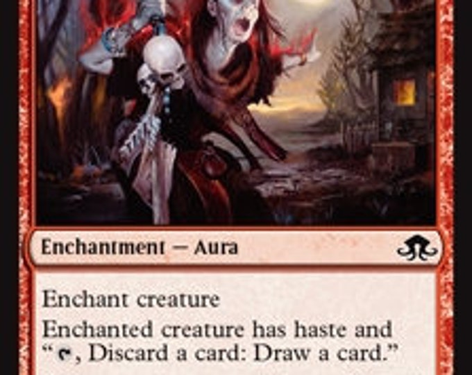 Prophetic Ravings - Enchantment/Aura - Eldritch Moon - Magic the Gathering