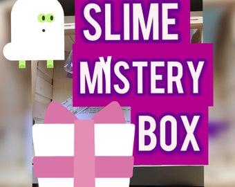 SLIME MYSTERY BOX, Slime Surprise, Slime Grab Bag, Slime free shipping, Slime Kit, Slime Package, valentines day, teenage girl gift