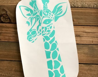 Giraffe Vinyl Decal