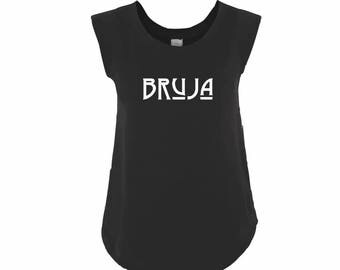 Witch Clothing BRUJA Black Cap Sleeve Top