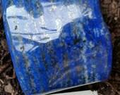 Lapis Lazuli Specimen..Absolutely Gorgeous. HeavyWeight. Beautiful & Unique Veining. Honesty and Truth. Enhances Psychic Powers.