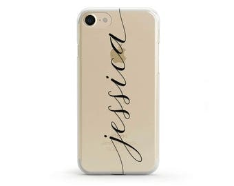 Personalised iPhone Case, Custom name iPhone 7 Case, Customised iPhone 6s Case, Custom Name iPhone 6 Case, Personalized Gift For Her