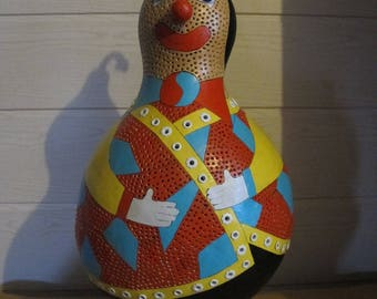 original gourd calabash pattern clown lamp