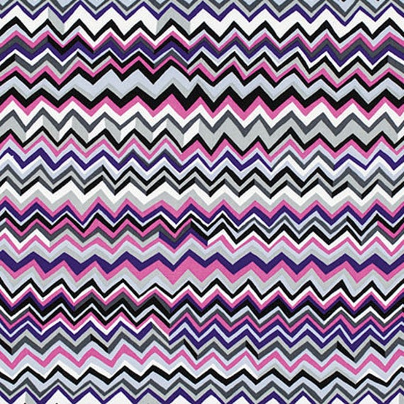 ZIG ZAG White BM043  Fall 2015 Brandon Mably Kaffe Fassett Collective Sold in 1/2 yd increments