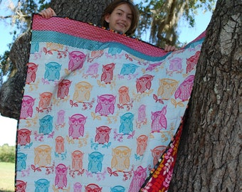 Owl Always Love You Baby Quilt Blanket
