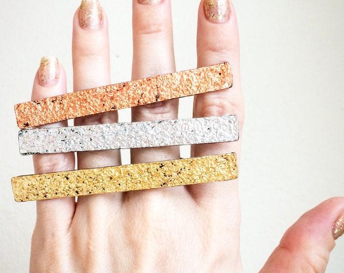 Gold, Silver, Copper Knuckle Duster, Adjustable