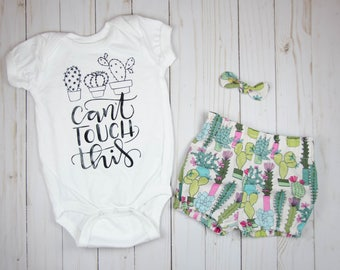 Baby Girl Outfits Summer - Baby Girl Clothes - Cactus Girl Clothes -Coming Home Outfit - Toddler Girl Outfits - Toddler Girl Clothes