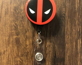Deadpool Retractable Badge Holder