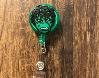 Retractable Hulk Badge Holder