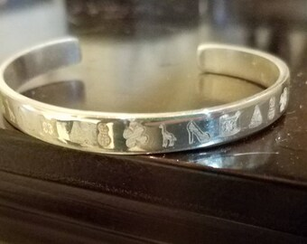 Monopoly Rustic Cuff Bracelet