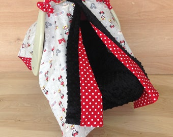 Canopy Tent- Minnie Mouse/ Red Polka Dot