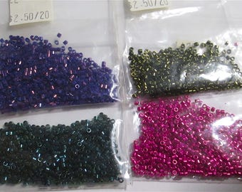 4 Packs of Colorful Micro Beads