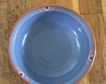 Noritake Blue Adobe Cereal Bowl Set