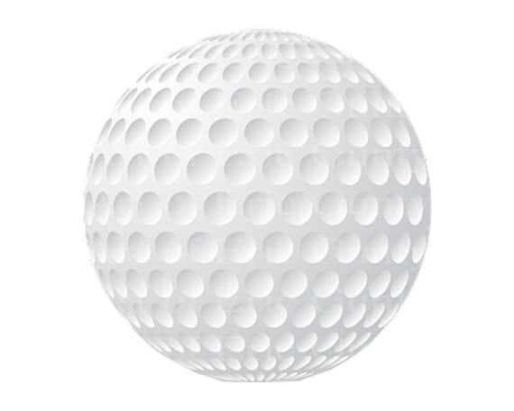 Golf Ball Happy Birthday - Edible Cake and Cupcake Topper For Birthday's and Parties! - D22751