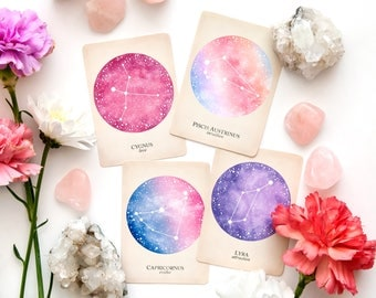 Compendium of Constellations, Astrology Oracle, Oracle Deck, Constellation Oracle Deck, Astrology Tarot Deck, Constellation Tarot Deck