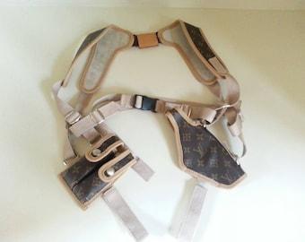 Louis Vuitton Style gun holster