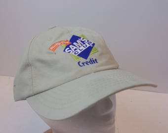 90s Sams Club Credit hat cap low profile dad hat
