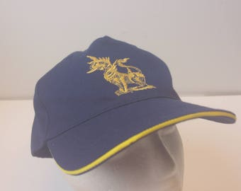 Dragon hat cap 90s vintage Ministry Defense of Thailand hat