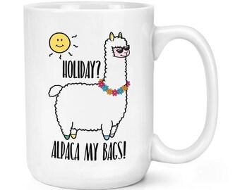 Holiday Alpaca My Bags 15oz Mighty Mug Cup