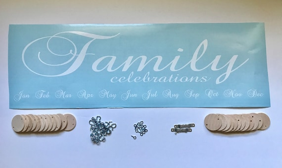 Diy family celebrations board do it yourself family like this item solutioingenieria Image collections