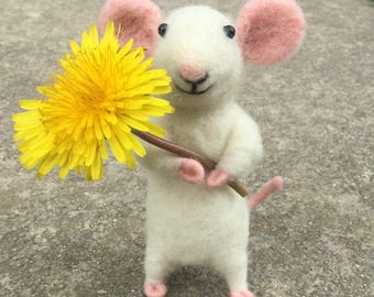 Needle Felted Mouse or Rat