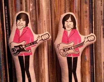 Ray and Dave Davies The Kinks Rock 'n' Roll Iconic Character Doll Figure Toy LP Album T-Shirt Singles Vinyl Memorabilia Records Ticket CD