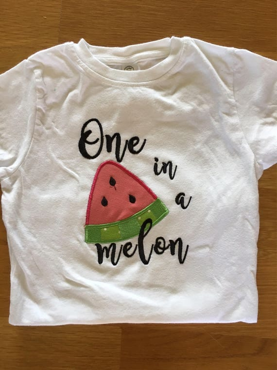 Girls one in a melon fruit shirt, Tutti Fruitti birthday, watermelon orange lemon lime theme picnic birthday theme, 1st birthday girl