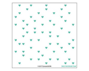 Concord and 9th - Clear Acrylic Stamps - Heart Turnabout