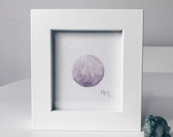 Framed Mini Moon Limited Edition Number 10/10