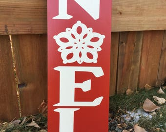 Noel Wooden Sign, Holiday Sign, Noel Sign, Christmas Sign, Holiday Art