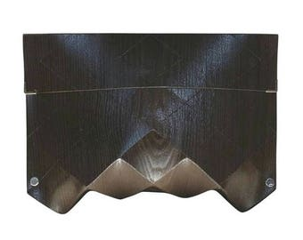 ORIGAMI ECO CLUTCH in wood