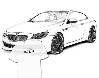 Kleurplaat Verjaardag Nicht Afstandsbediening Kleurplaat Bmw Audi Etsy Kleurplatenl Com