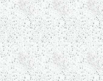 Raindrops, jersey fabric